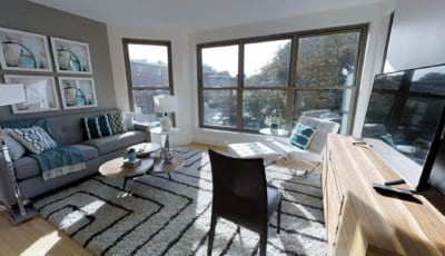 Boston Apartment (1,000 sqft) 3D Model