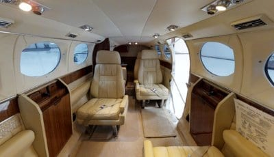 Private Jet N414MP 3D Model