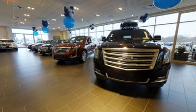 Cadillac of Norwood: Showroom 3D Model